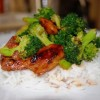 Thumbnail image for Stir-fry chicken with steamed broccoli