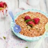 Thumbnail image for Strawberry Balsamic Nutty Crumble