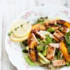 Thumbnail image for Grilled Lettuce & Peach Salad