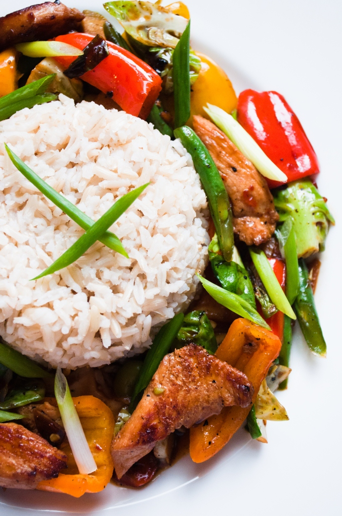 Stir fry chicken with mix vegetables kiran tarun r e c for Asian cuisine ppt