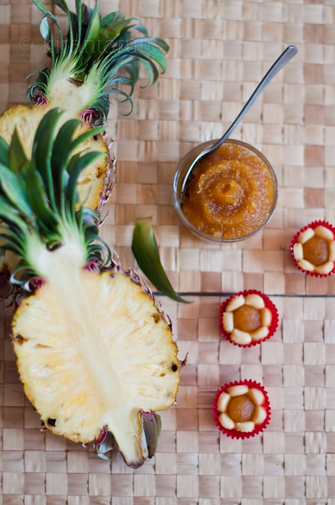 Pineapple Jammy Tarts Recipe — Dishmaps