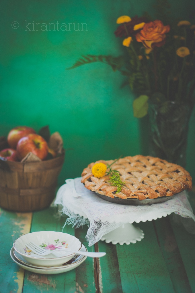 Apple Lattice Pie | KiranTarun.com