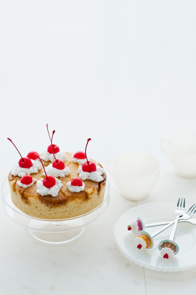 Pineapple Upside-Down Cake | KiranTarun.com/Food