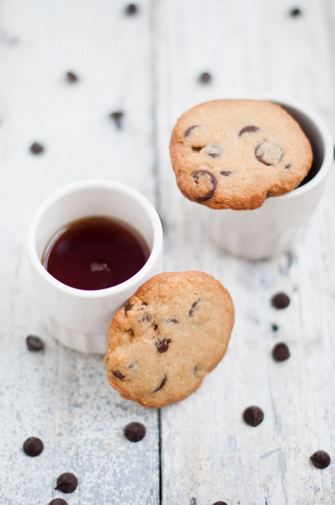 Chocolate Chip Cookies | KiranTarun.com/Food