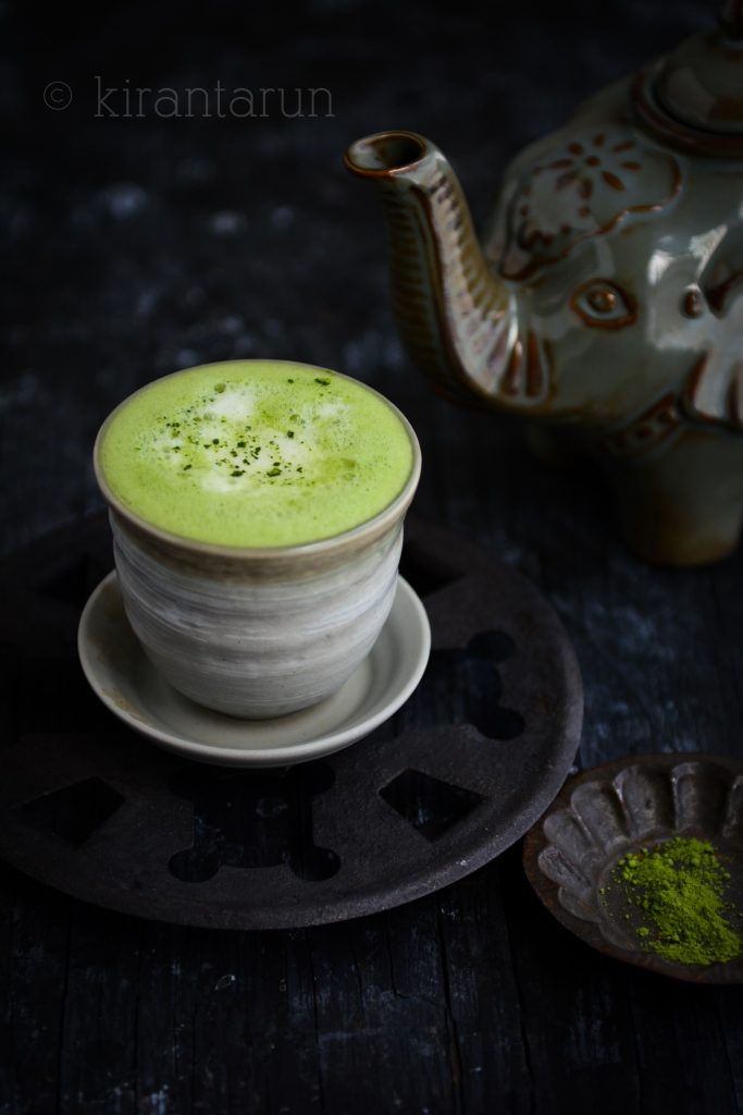 Green Tea Latte | @KiranTarun http://kirantarun.com/food