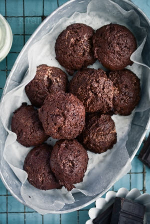 Post image for Flourless Fudgy Chocolate Cookies