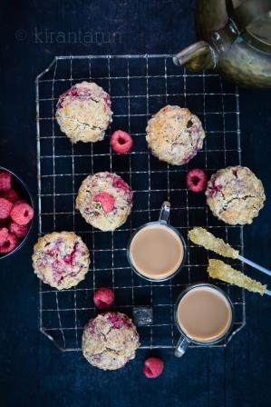 Post image for Raspberry Almond Scones